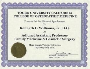 Touro University California, College of Osteopathic Medicine