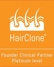 Hair Clone Founder Clinical Partner Platinum Level